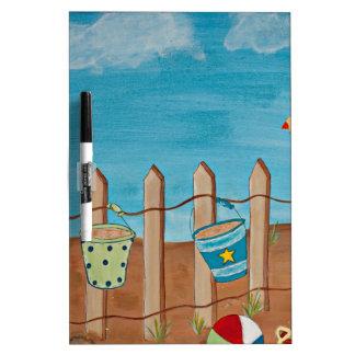 Ame la pintura de la Playa-Mano Pizarras