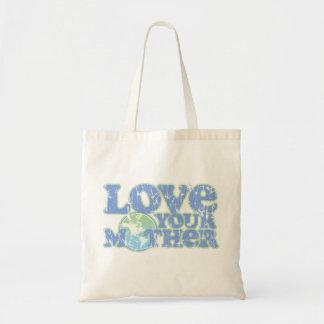 Ame la su bolsa de asas de la madre tierra