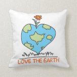 Ame la tierra almohadas