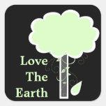 Ame la tierra colcomania cuadrada