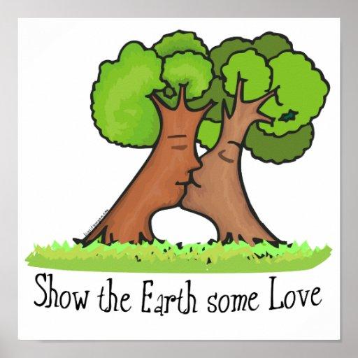 Ame la tierra posters
