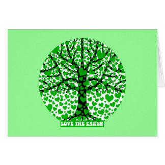 ame la tierra tarjeta