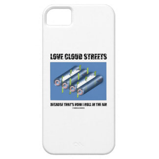 Ame las calles de la nube porque ése es cómo ruedo iPhone 5 funda