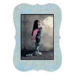 Ame las invitaciones/RSVP/tarjeta del ~ del ángel Invitación 12,7 X 17,8 Cm