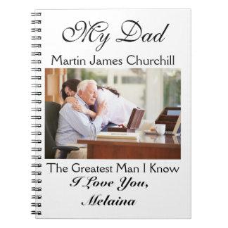 Ame las notas al papá/al abuelo/al marido libro de apuntes