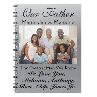 Ame las notas para el día de la madre o de padre - libro de apuntes