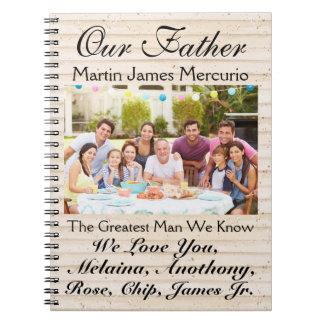 Ame las notas para el día de la madre o de padre - cuaderno