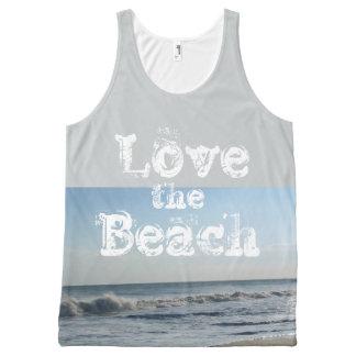 Ame las ondas de arena de la playa