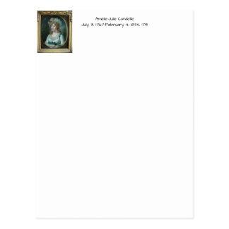 Amélie Julie Candeille 1791 Postcard