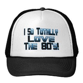 Ame los años 80 gorros