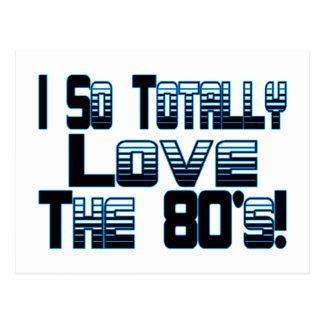 Ame los años 80 postales