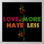 Ame más odio menos poster