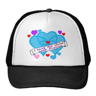 Ame mi autismo del niño w gorra