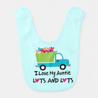 Ame mi babero de la tía bebé