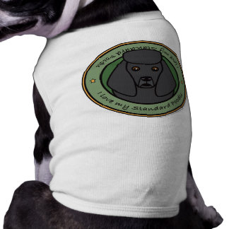 Ame mi caniche camisas de mascota