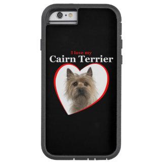 Ame mi caso del iPhone de Terrier de mojón Funda De iPhone 6 Tough Xtreme