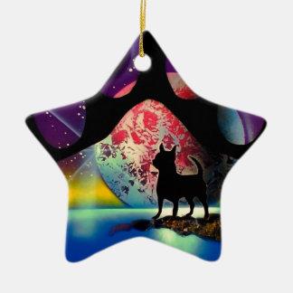 Ame mi chihuahua ornamentos de navidad