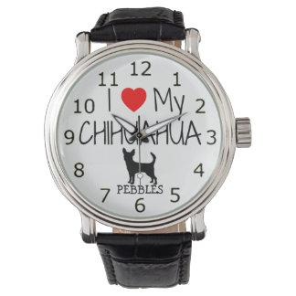 Ame mi chihuahua relojes de mano
