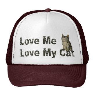 Ame mi gato gorro