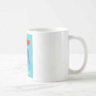 Ame mi great dane taza de café
