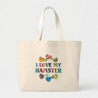 Ame mi hámster bolsas de mano