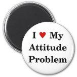 Ame mi imán del problema de la actitud