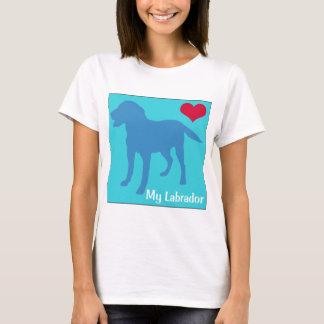 Ame mi Labrador Playera