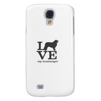 Ame mi Leonberger Funda Samsung S4