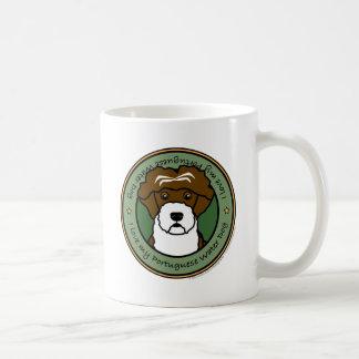 Ame mi perro de agua portugués taza de café