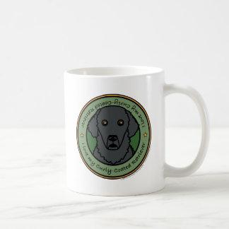 Ame mi perro perdiguero Rizado-Revestido Taza De Café