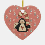 Ame mi pingüino ornamentos de reyes
