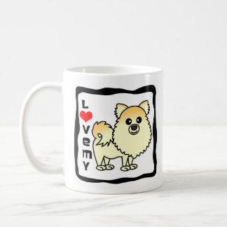 Ame mi Pomeranian Taza