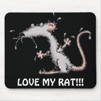 ¡AME MI RATA!!! MOUSEPAD - ¡LINDO!!! ALFOMBRILLAS DE RATONES