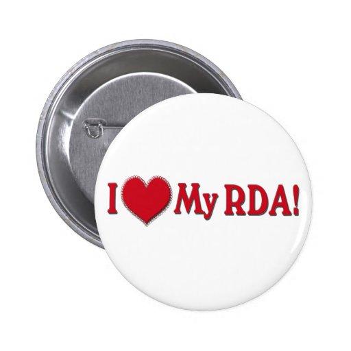 AME MI RDA - AYUDANTE DE DENTISTA REGISTRADO PIN REDONDO 5 CM