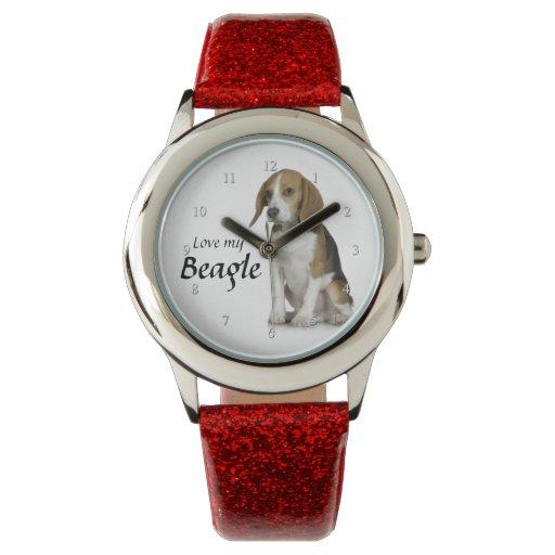 Ame mi reloj del beagle