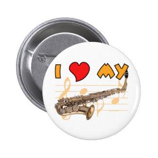 Ame mi saxofón pins