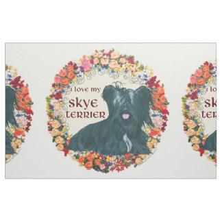 Ame mi Skye Terrier Telas
