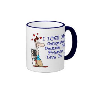 Ame mi taza de café de Puter