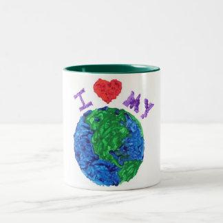 Ame mi taza de la tierra