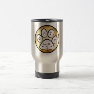Ame mi taza de los gatos