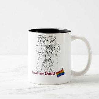 Ame mi taza de los papás (el chica)