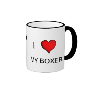 Ame mi taza del boxeador