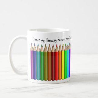 Ame mi taza del profesor de escuela dominical