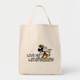 ¡Ame mis Lederhosen! Bolsa Tela Para La Compra