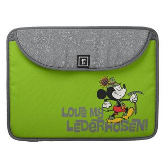 ¡Ame mis Lederhosen! Fundas Macbook Pro
