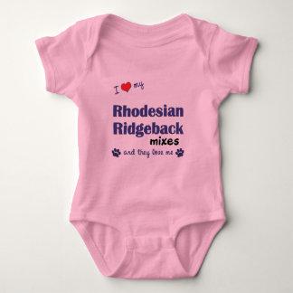 Ame mis mezclas de Rhodesian Ridgeback (los perros Remeras