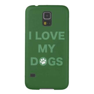 Ame mis perros (el verde) funda galaxy s5