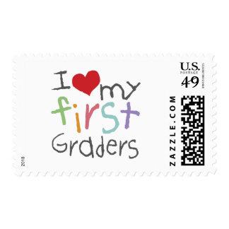 Ame mis primeros graduadores sello postal