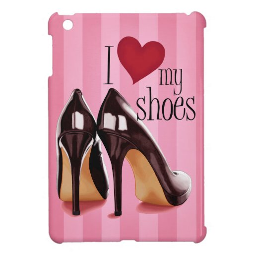 Ame mis zapatos iPad mini funda