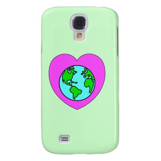 Ame nuestro planeta funda para galaxy s4
